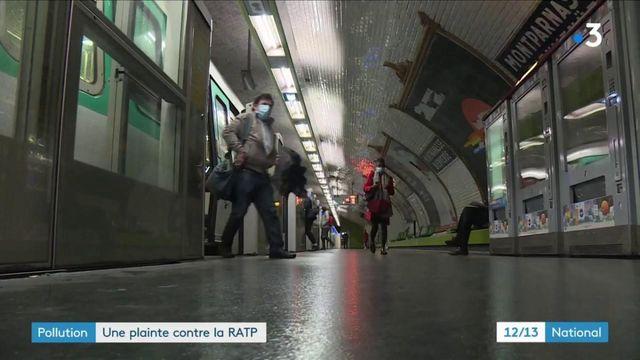 Pollution : une association porte plainte contre la RATP