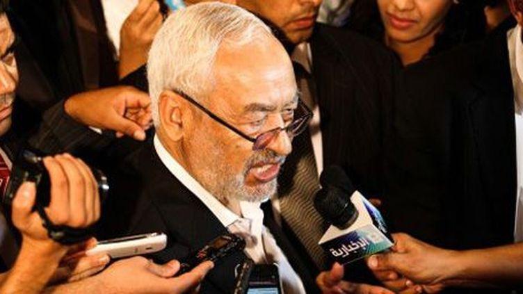 Le président du parti islamiste Ennahda, Rached Ghannouchi, le 5-9-2013. (AFP - Anadolu Agency - Amine Landoulsi)
