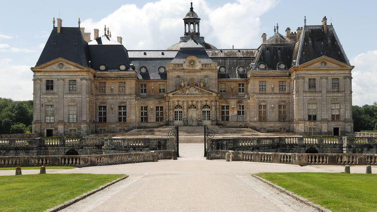 Le château de Vaux-le-Vicomte, en Seine-et-Marne, a été cambriolé dans la nuit du 18 au 19 septembre 2019. (MIGUEL MEDINA / AFP)