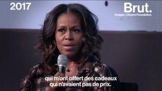 """VIDEO. Michelle Obama : retour sur la carrière engagée de la première """"Black First Lady"""" (BRUT)"""