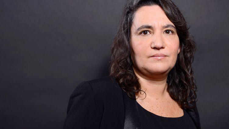 La journaliste Cécile Amar, le 31 janvier 2014, à Paris. (BALTEL / SIPA)