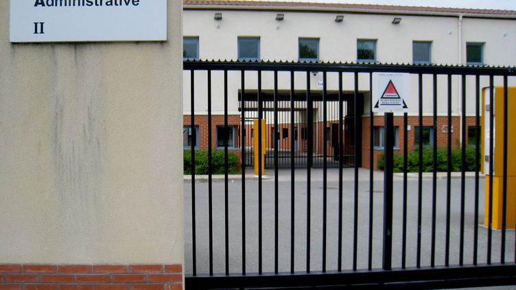 Centre de rétention administrative du Mesnil-Amelot. (BÉATRICE DUGUÉ / RADIOFRANCE)