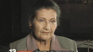 Simone Veil avait connu l'enfer de Shoah, dont elle était ressortie vivante. Un drame qui avait marqué sa vie entière. (FRANCE 2)