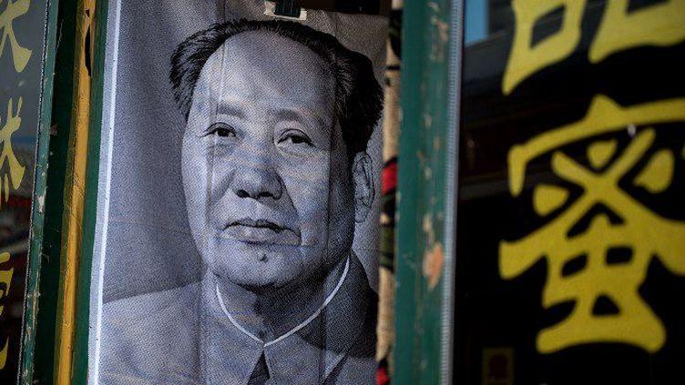 Portrait de Mao (NICOLAS ASFOURI / AFP)
