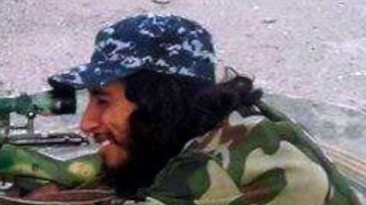 (Abdelhamid Abaaoud sur une photo de propagande djihadiste © SIPA)