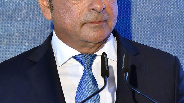 Carlos Ghosn au Liban en août 2017. (WAEL HAMZEH / EPA)