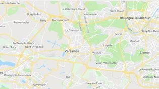 Versailles (Yvelines) (GOOGLE MAPS / FRANCEINFO)