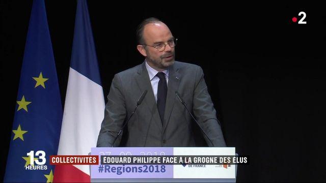 Collectivités : Édouard Philippe fait face à la grogne des élus
