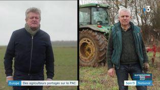 Leq agriculteurs Philippe Loiseau et Arnaud Delacour (France 3)