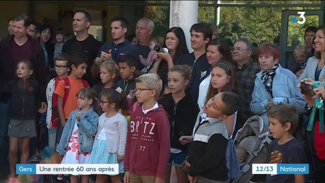 Gers : une école rouvre ses portes, 60 ans après