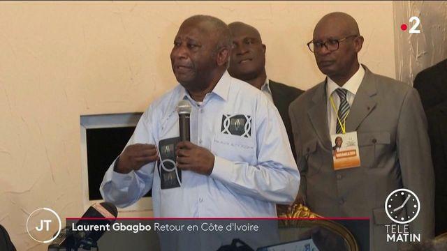 Côte d'Ivoire: scènes de liesse pour le retour de Laurent Gbagbo