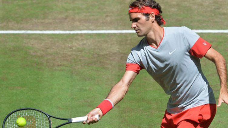 Roger Federer sur gazon