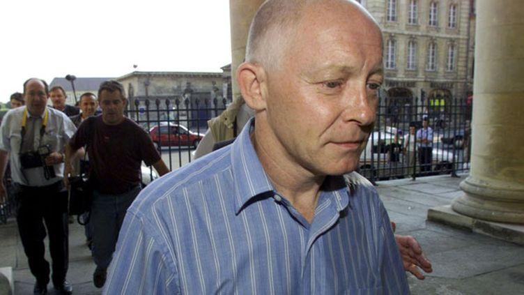 (Patrick Henry, ici en 2002 à Caen avait vu sa première libération conditionnelle révoquée, après une série de faux pas © MaxPPP)
