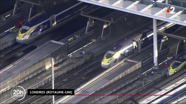 Transports : l'incertitude dans les gares françaises et anglaises