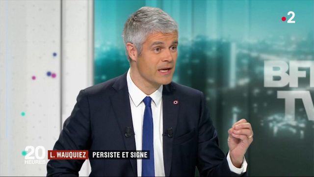 Laurent Wauquiez persiste et signe