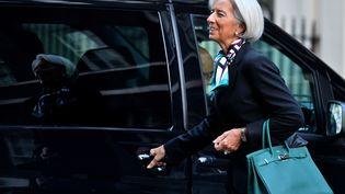 Christine Lagarde, la directrice générale du FMI,le 4 février 2014 à Londres (Grande-Bretagne). (BEN STANSALL / AFP)