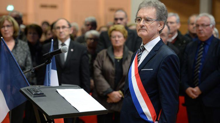 Le député PS du Maine-et-Loire Serge Bardy, le décembre 2015 à Angers (Maine-et-Loire). (MAXPPP)