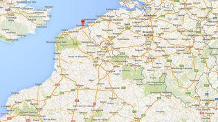 """Un policier a été grièvement brûlé lors d'une intervention à Dunkerque, le 13 avril 2015, rapporte """"La Voix du Nord"""". (CAPTURE GOOGLE MAPS)"""