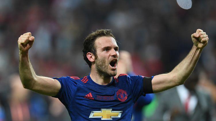 Juan Mata, sous le maillot de Manchester United (PAUL ELLIS / AFP)