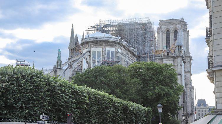 La cathédrale Notre-Dame de Paris, le 24 juin 2019. (NICOLAS ECONOMOU / NURPHOTO)