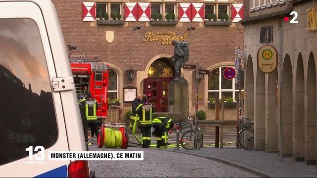 Véhicule-bélier à Münster : le geste d'un déséquilibré