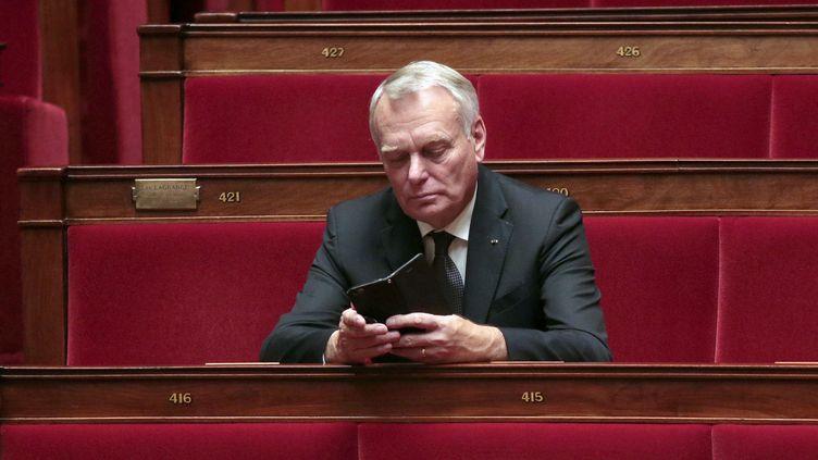 L'ancien Premier ministre Jean-Marc Ayrault, le 4 novembre 2015 à l'Assemblée nationale. (JACQUES DEMARTHON / AFP)