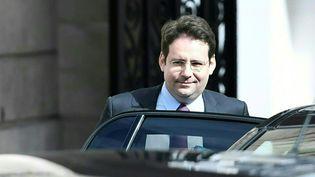 Le ministre de l'Intérieur, Matthias Fekl, le 22 mars 2017 à Paris. (STEPHANE DE SAKUTIN / AFP)