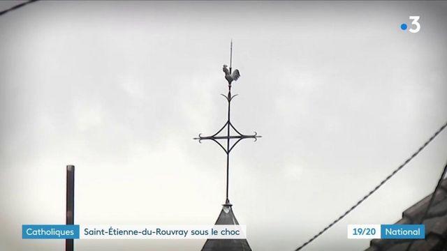 Attentat à Nice : l'effroi règne à Saint-Étienne-du-Rouvray