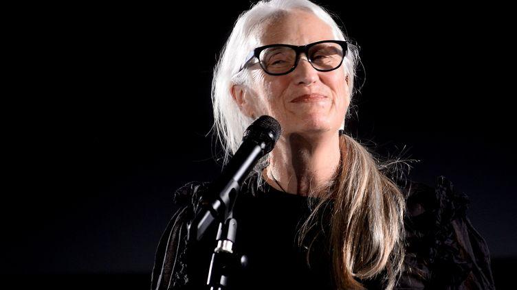 Jana Campion au festival Il Cinema Ritrovato (Le cinéma redécouvert), à Bologne en Italie, le 29 juin 2019 (ROBERTO SERRA - IGUANA PRESS / GETTY IMAGES EUROPE)
