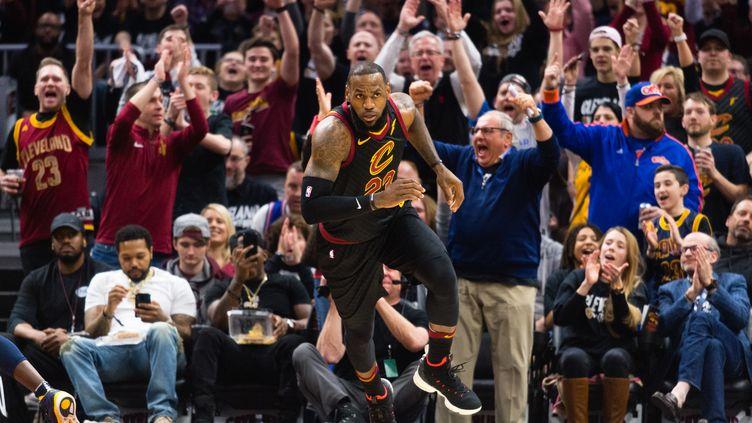 LeBron James et Cleveland se sont repris (JASON MILLER / GETTY IMAGES NORTH AMERICA)