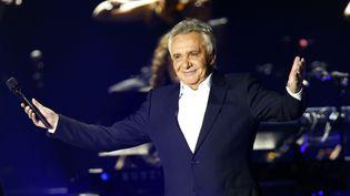 Michel Sardou à Bercy en 2012 (PIERRE VERDY / AFP)