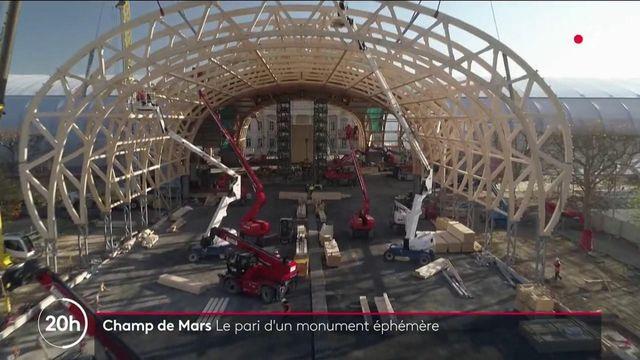 Champ de Mars : un impressionnant palais éphémère