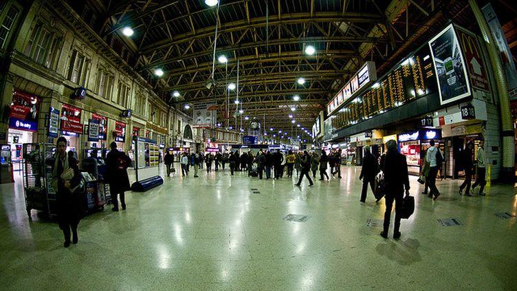 La grève devrait notamment toucher les gares, comme celle de Waterloo à Londres (cc Hyku)