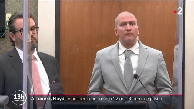 Affaire G. Floyd : Derek Chauvin condamné à 22 ans et demi de prison
