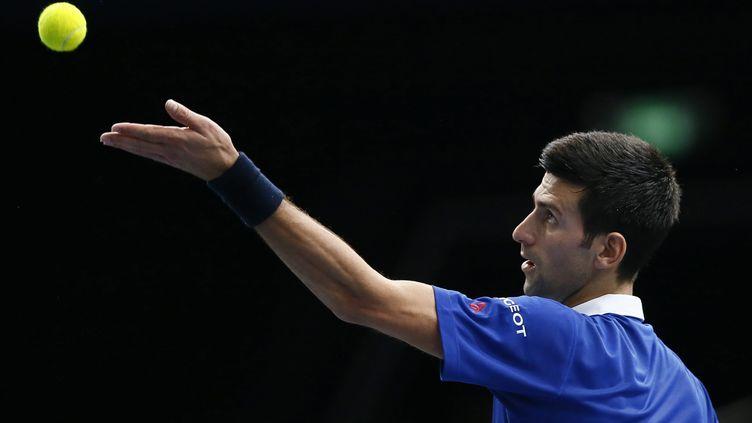 Novak Djokovic. (IAN LANGSDON / EPA)