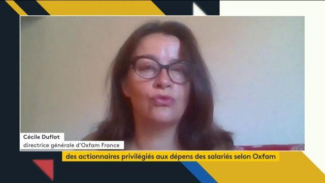 """VIDEO. """"Au niveau international, Oxfam se réorganise"""", selon la directrice générale d'Oxfam France Cécile Duflot"""