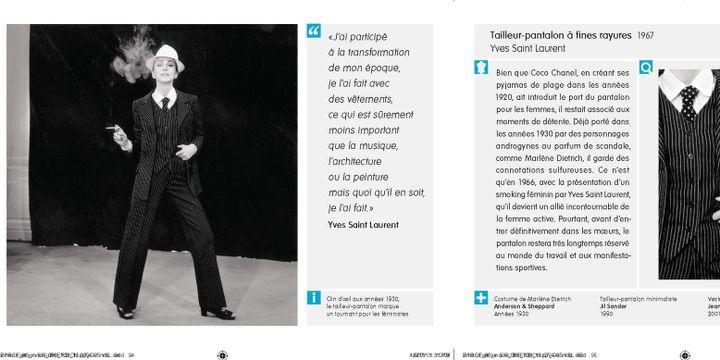 80 créations de mode expliquées : Yves Saint-Laurent  (Getty )