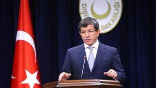 Ahmet Davutoglu, le chef de la Diplomatie turque. (AFP - Adem Altan)