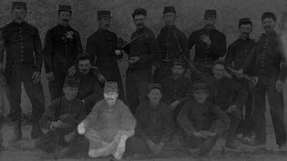 Une photo non datée du sergent Claude Fournier lors de la première guerre mondiale. (CLAUDIA PALLUAT-MONTEL)