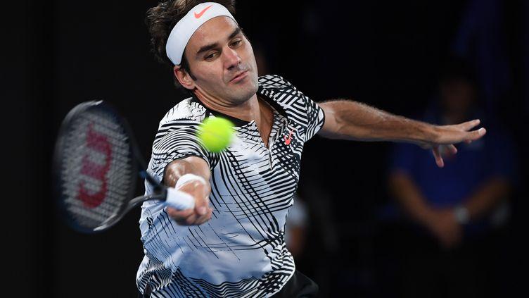 Roger Federer  (WILLIAM WEST / AFP)