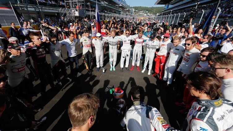 Les pilotes de F1 s'apprêtent à passer sous le contrôle des Américains (VALDRIN XHEMAJ / POOL)