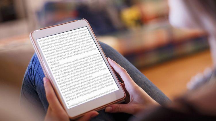 Pour 9,99 euros par mois, l'abonnement propose plus de 600 000 livres électroniques.  (Kris Ubach and Quim Roser/Cultura Creative/AFP)