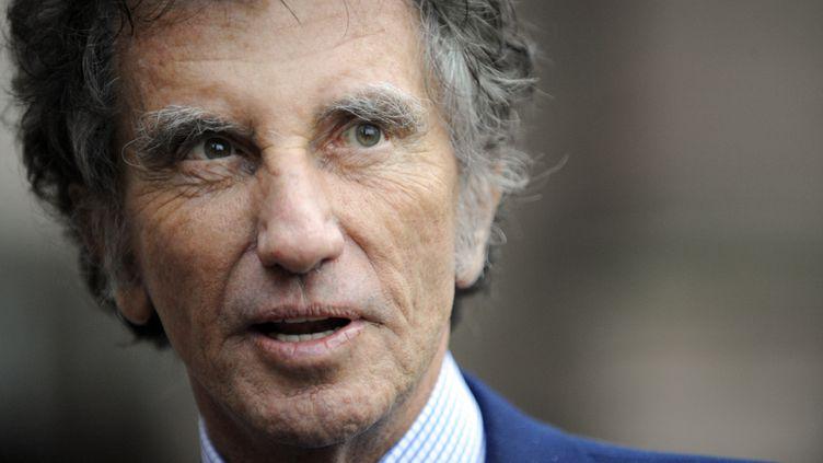 Jack Lang, alors en campagne législative, le 12 janvier 2012 à Saint-Dié (Vosges). (JEAN-CHRISTOPHE VERHAEGEN / AFP)