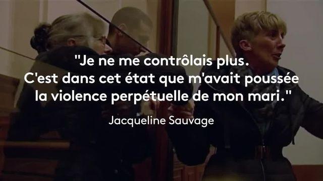 """Condamnée à dix ans de réclusion criminelle pour le meurtre de son mari violent, graciée """"partiellement"""" par François Hollande, Jacqueline Sauvage est devenue un symbole des femmes victimes de violences conjugales."""