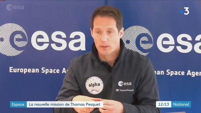 Espace : un deuxième séjour prévu en avril pour Thomas Pesquet