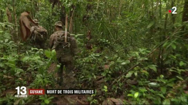 Guyane : trois militaires décèdent lors d'une opération contre l'orpaillage