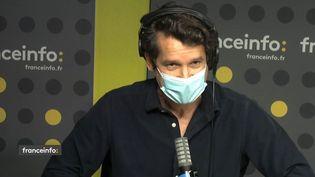 Philippe Levasseur, le directeur de l'international de Newen. (FRANCEINFO / RADIO FRANCE)