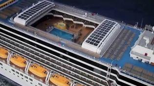 Le préfet des Bouches-du-Rhône a refusé qu'un paquebot italien n'accoste au port de Marseille. Au bord du navire, 426 Français. (FRANCE 3)