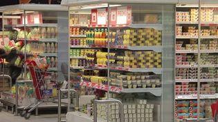 Consommation : augmentation du prix de certains produits dans les supermarchés. (FRANCE 3)