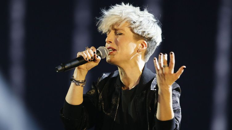 """Jeanne Added aux """"Victoires de la Musique"""", le 12 février 2016  (Photo PQR / Le Parisien )"""